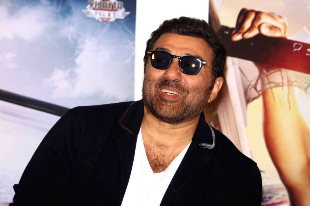 Actor Sunny Deol during the trailer launch of film Ghayal Once Again, in Mumbai, on Jan 21, 2016. - Sunny Deol