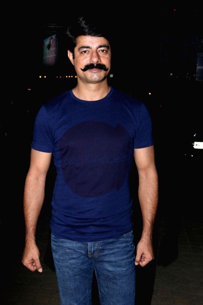 Actor Sushant Singh during the special screening of film Lipstick Under My Burkha at Jio MAMI Mumbai Film Festival in Mumbai on Oct 26, 2016. - Sushant Singh