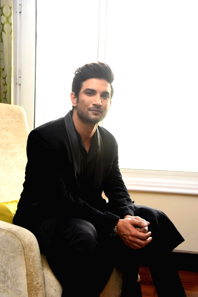 Actor Sushant Singh Rajput at the Behtar India Students' Conclave in New Delhi on Aug 4, 2017. - Sushant Singh Rajput
