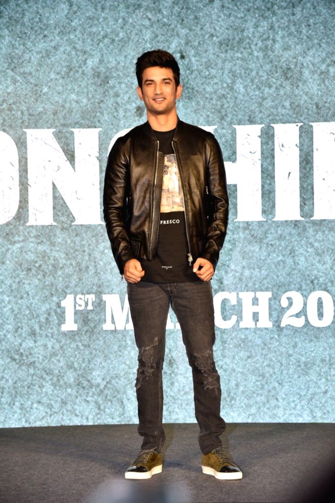 Actor Sushant Singh Rajput during a press conference to promote his upcoming film 'Sonchiriya' in Mumbai, on Feb 9, 2019. - Sushant Singh Rajput