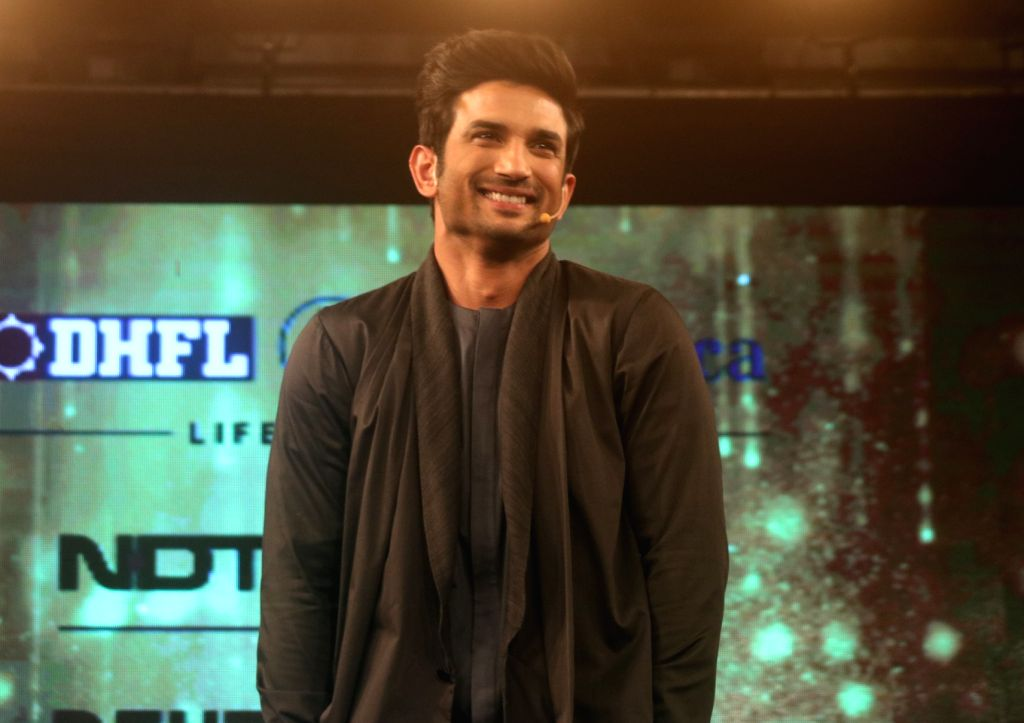 "Actor Sushant Singh Rajput during ""Behtar India award ceremony"" in New Delhi, on Dec 5, 2017. - Sushant Singh Rajput"