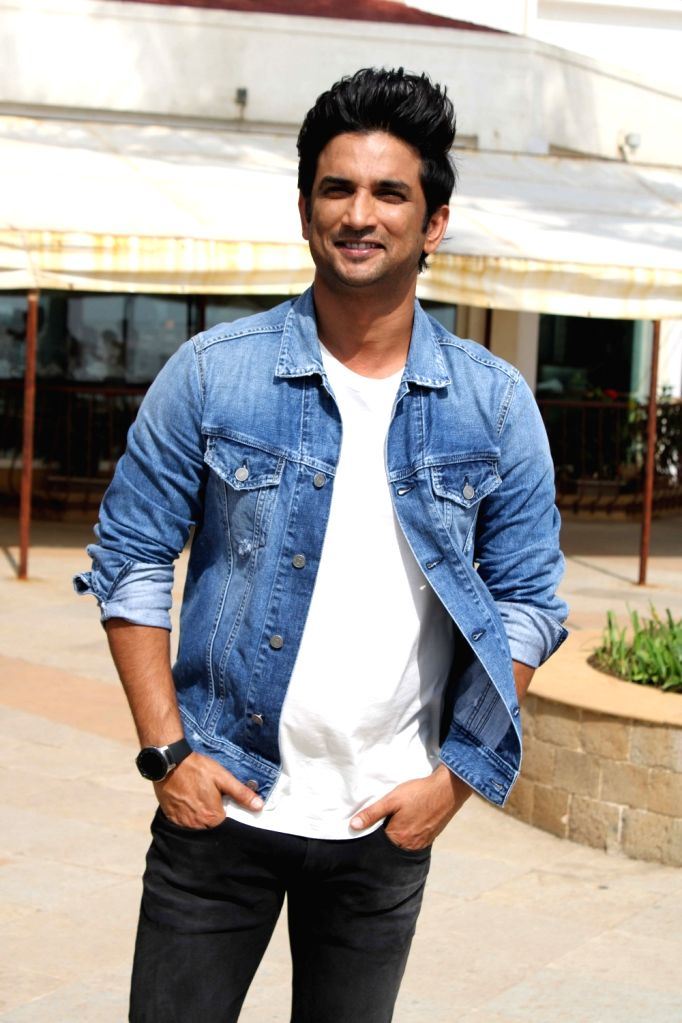 """Actor Sushant Singh Rajput during the promotions of his upcoming film """"Chhichhore"""", in Mumbai on Aug 22, 2019. - Sushant Singh Rajput"""