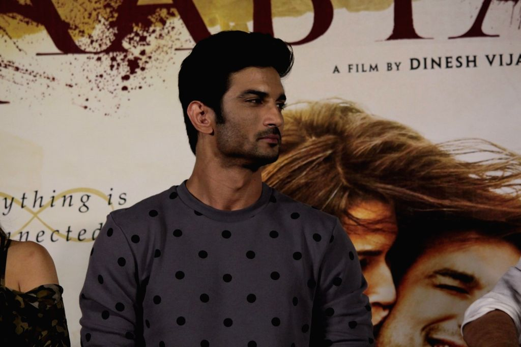 Actor Sushant Singh Rajput during the Trailer launch of film Raabta in Mumbai on April 16, 2017. - Sushant Singh Rajput