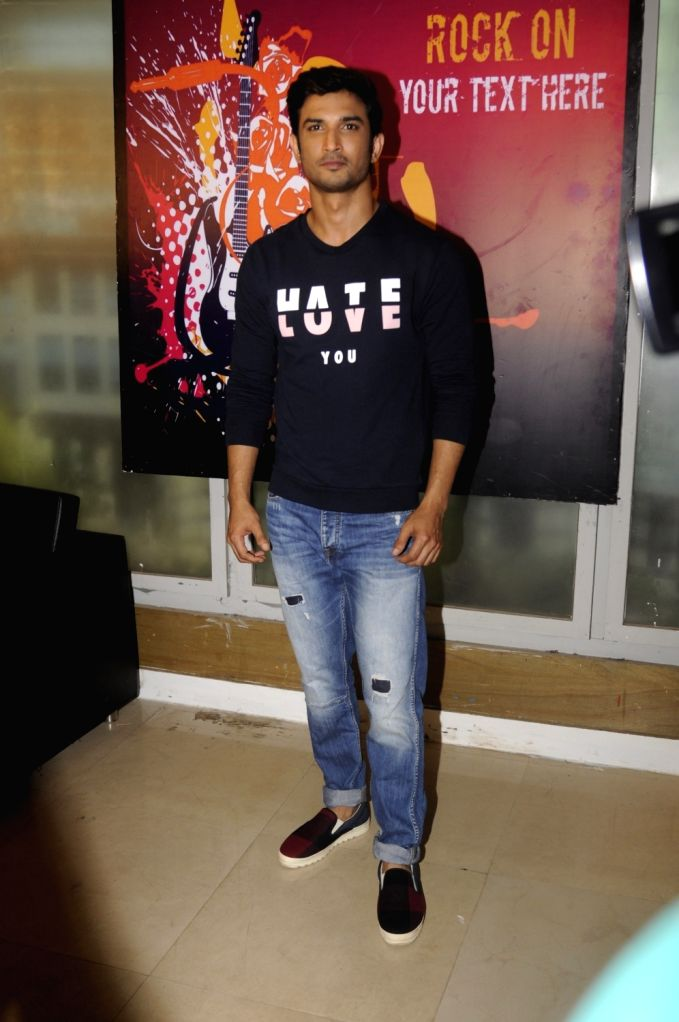 Actor Sushant Singh Rajput on the set of Kumkum Bhagya in Mumbai on Sept 16, 2016. - Sushant Singh Rajput