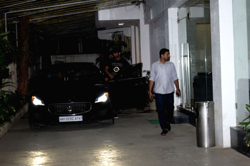 Actor Sushant Singh Rajput seen at a Mumbai studio on June 1, 2019. - Sushant Singh Rajput