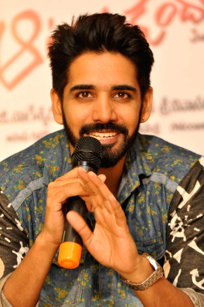 Actor Sushanth during a interview . - Sushanth