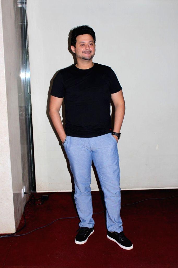 "Actor Swapnil Joshi at the launch of ''Maagu Kasa'' - a song from upcoming film ""Bhikari"" in Mumbai, on July 5, 2017. - Swapnil Joshi"