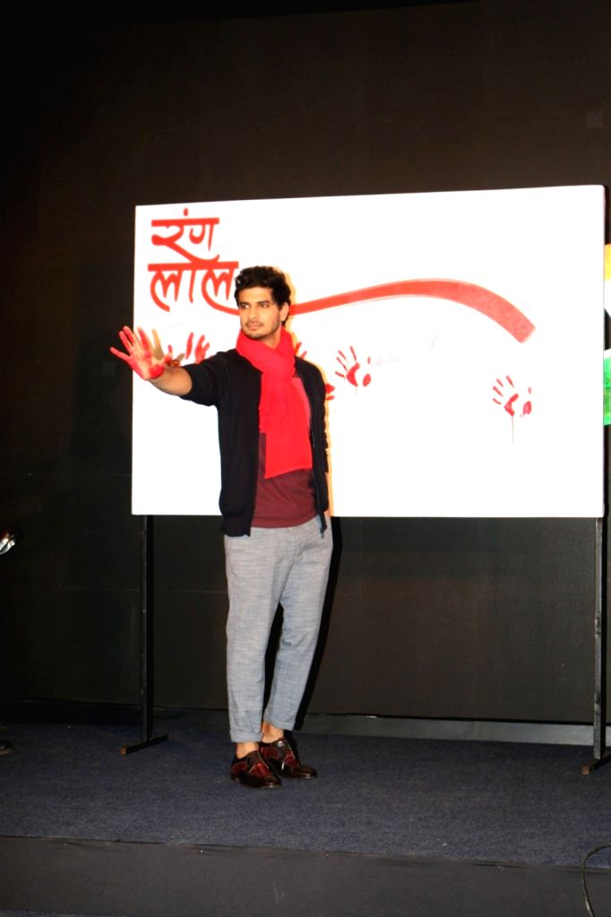 Actor Tahir Bhasin during the launch of promotional video titled Rang Laal for film Force 2, in Mumbai on Oct 21, 2016. - Tahir Bhasin