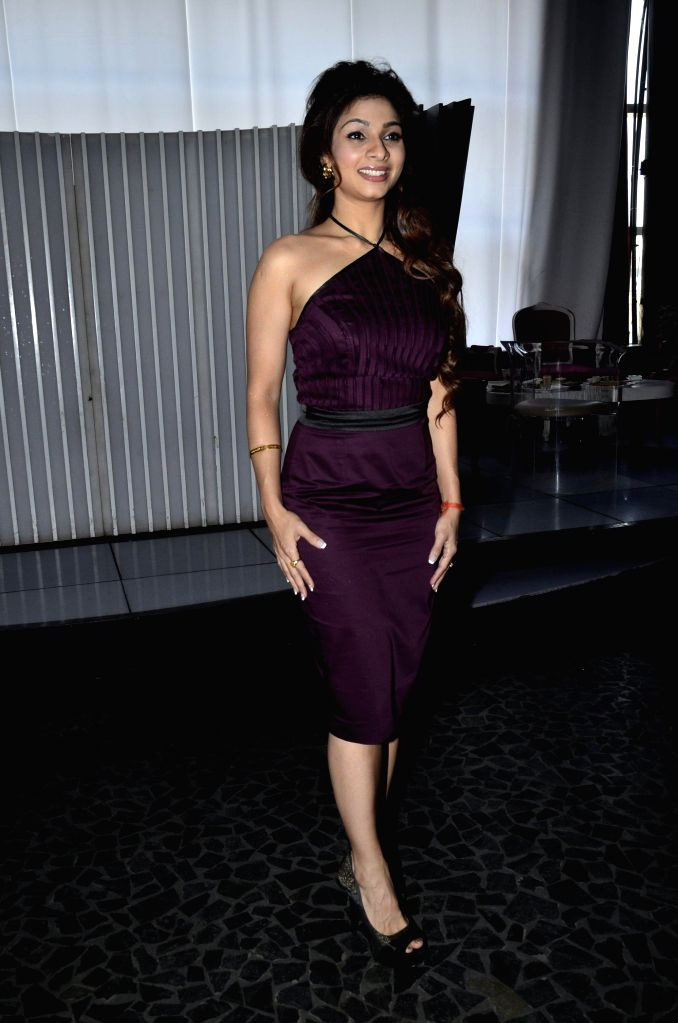 Actor Tanishaa Mukherjee during the launch of Zee Television serial Gangs of Hasseepur in Mumbai, on April 17, 2014. - Tanishaa Mukherjee