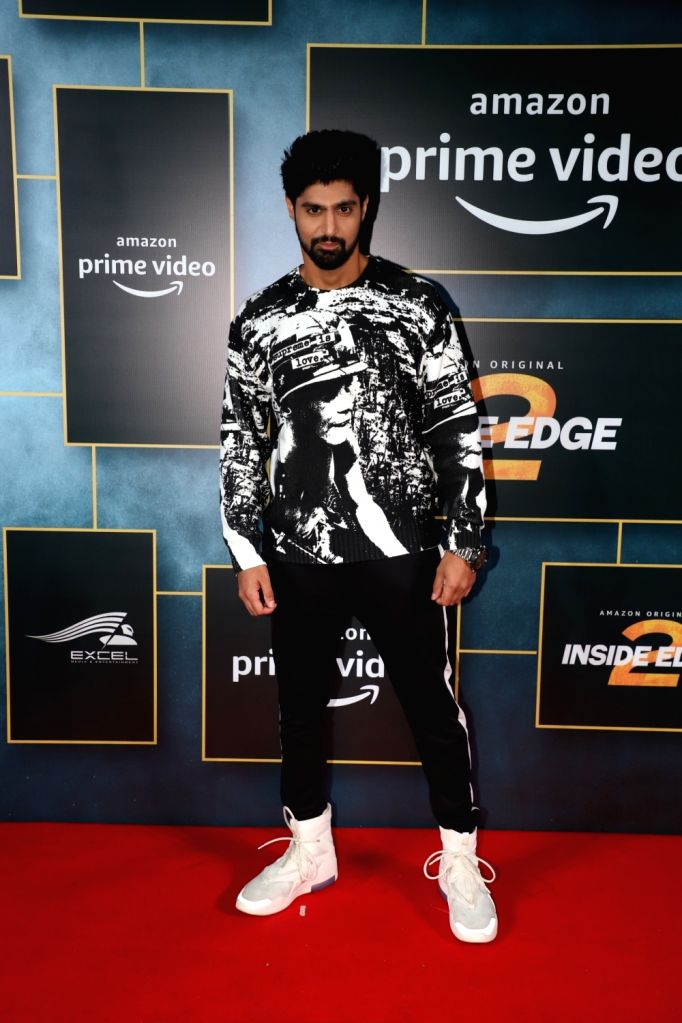 "Actor Tanuj Virwani during the launch of upcoming web series ""Inside Edge Season 2"" in Mumbai on Dec 4, 2019. - Tanuj Virwani"