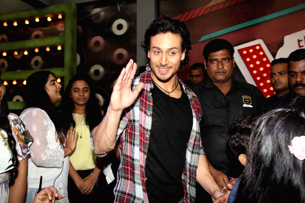 Actor Tiger Shrof on the sets of &TV The Voice India Kids show to promote upcoming film A Flying Jatt in Mumbai, on July 27, 2016. - Tiger Shrof