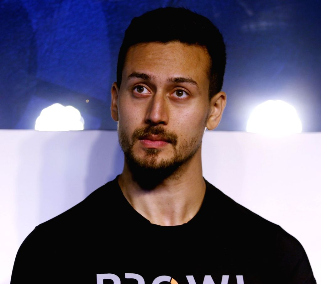 Actor Tiger Shroff at a launch of lifestyle brand in Mumbai on Feb 13, 2018. - Tiger Shroff