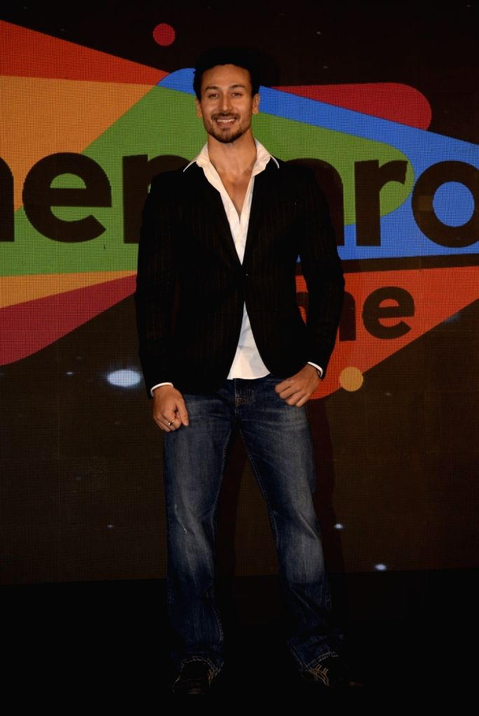 Actor Tiger Shroff at the launch of ShemarooMe - Over the Top platform of Shemaroo in Mumbai, on Feb 13, 2019. - Tiger Shroff