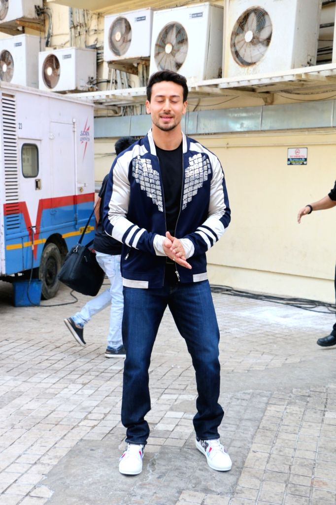 "Actor Tiger Shroff at the trailer launch of his upcoming film ""Student of the Year 2"" in Mumbai, on April 12, 2019. - Tiger Shroff"