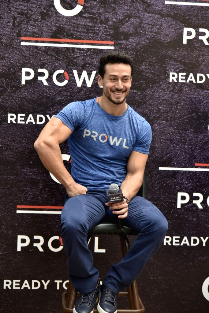 Actor Tiger Shroff during a programme in Mumbai on Sept 10, 2018. - Tiger Shroff