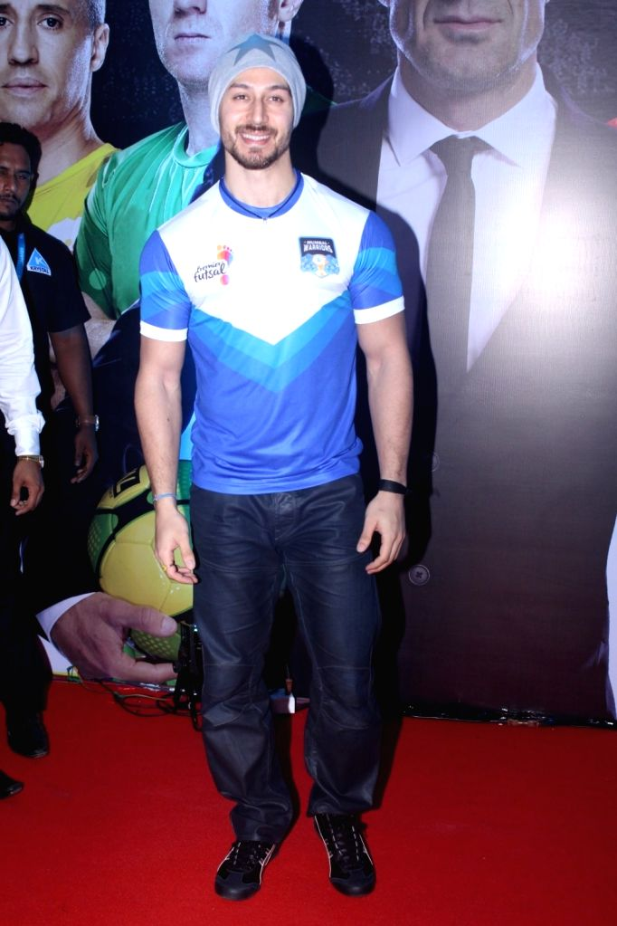 "Actor Tiger Shroff during the grand launch of ""Premier Futsal Season 2 Feat"" in Mumbai on Sept 15, 2017. - Tiger Shroff"