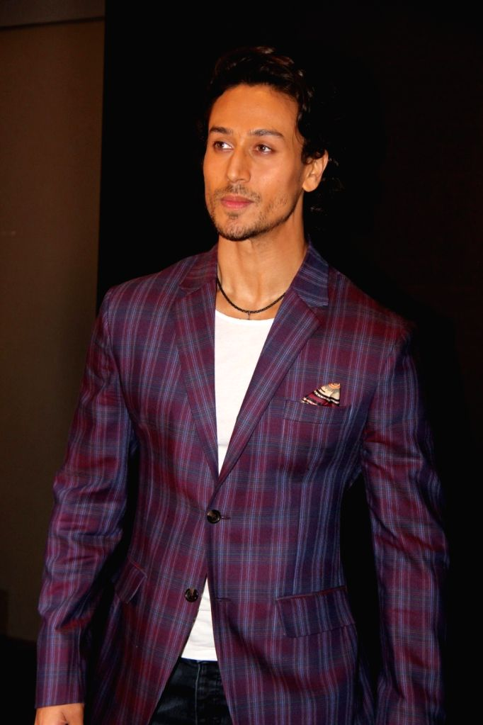 Actor Tiger Shroff during the launch of action song, Get Ready to Fight of film Baaghi, in Mumbai, on April 21, 2016. - Tiger Shroff