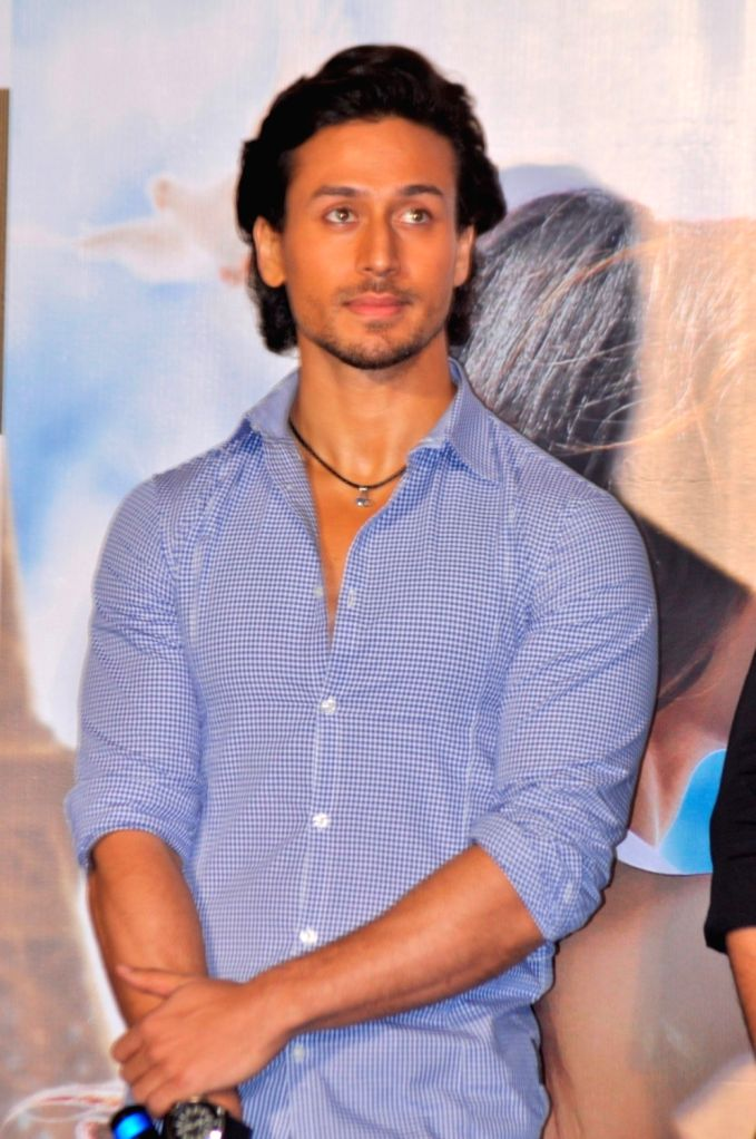 Actor Tiger Shroff during the launch of Single Befikra - Tiger Shroff