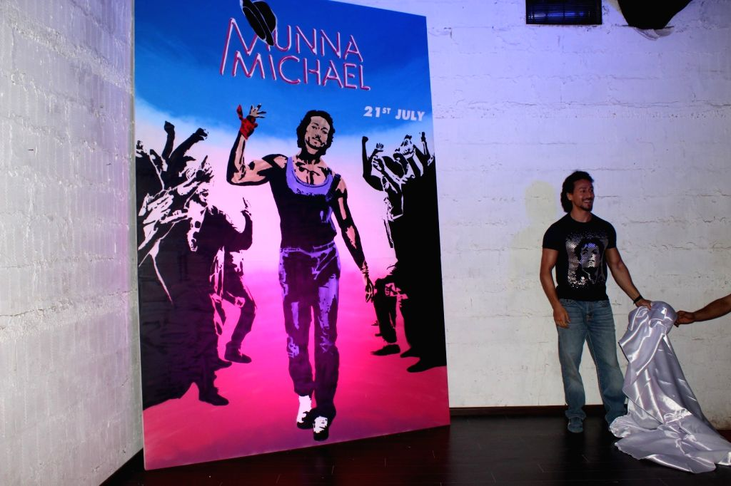 Actor Tiger Shroff during the poster launch of film Munna Michael in Mumbai, on June 2, 2017. - Tiger Shroff