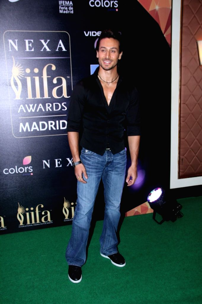 Actor Tiger Shroff  during the press conference of 16th International Indian Film Academy (IIFA) Awards in Mumbai on May 20, 2016. - Tiger Shroff