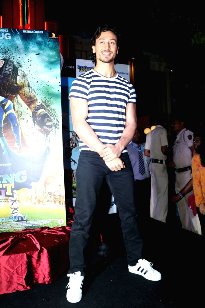 Actor Tiger Shroff during the promotion of film A Flying Jatt at KidZania in Mumbai, on August 12, 2016. - Tiger Shroff