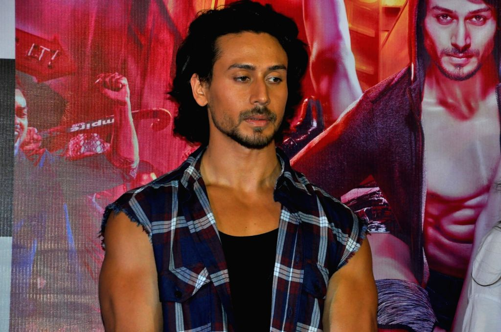 """Actor Tiger Shroff during the song launch of their upcoming film """"Munna Michael"""" in Mumbai, on June 18, 2017. - Tiger Shroff"""