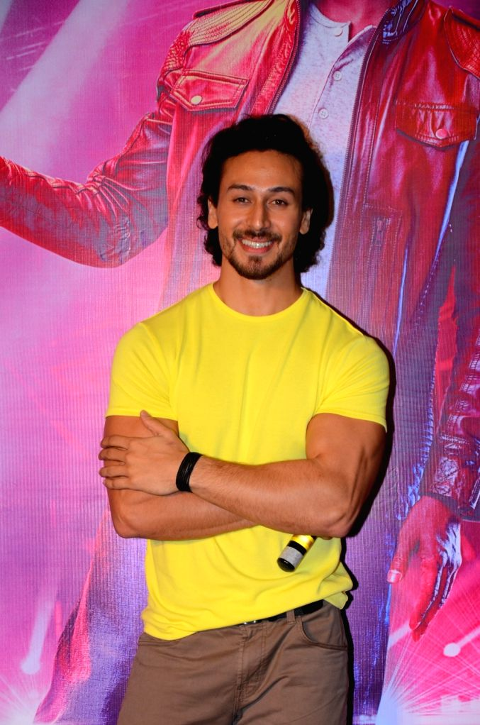 """Actor Tiger Shroff during the song launch """"Swag"""" from his upcoming film """"Munna Michael"""" in Mumbai, on July 5, 2017. - Tiger Shroff"""