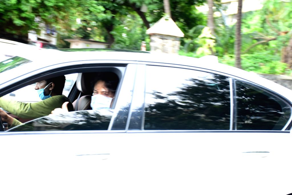 Actor Tiger Shroff seen at Bandra in Mumbai on July 31, 2020. - Tiger Shroff