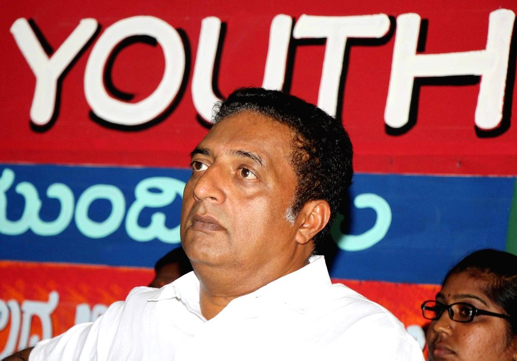 "Actor-turned politician Prakash Raj at the launch of ""Youth Agenda-2019"" in Bengaluru on Feb 15, 2019."