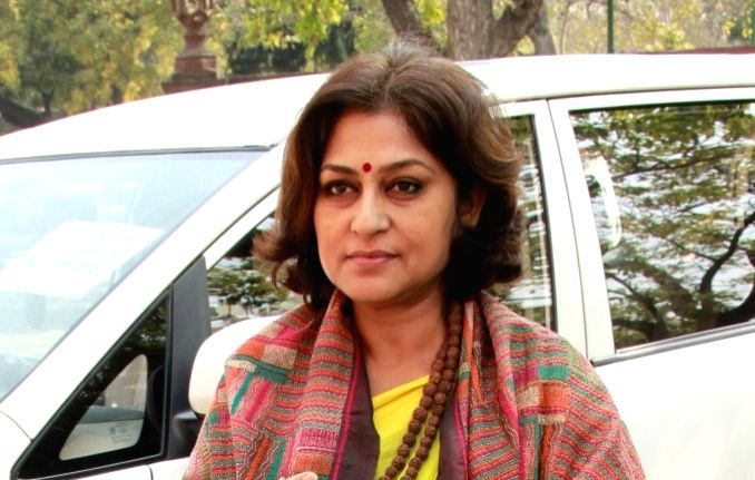 Actor-turned politician Roopa Ganguly. (File Photo: IANS)