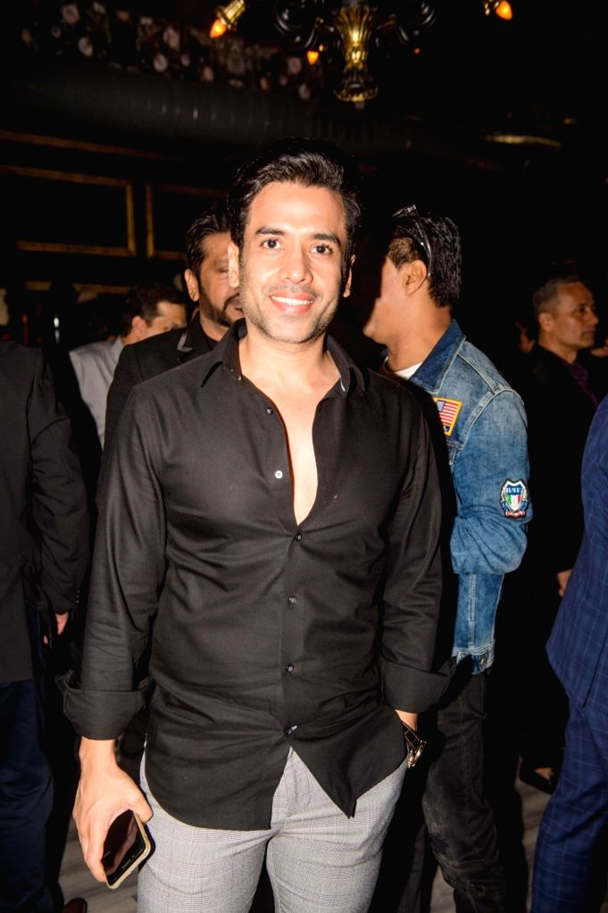 Actor Tusshar Kapoor at the Unveiling ceremony of Miss Diva Supranational 2019 where Vartika Singh was announced Miss Diva Universe 2019, Shefali Sood Miss Diva Supranational 2019 and Varun ... - Tusshar Kapoor, Vartika Singh and Varun Verma