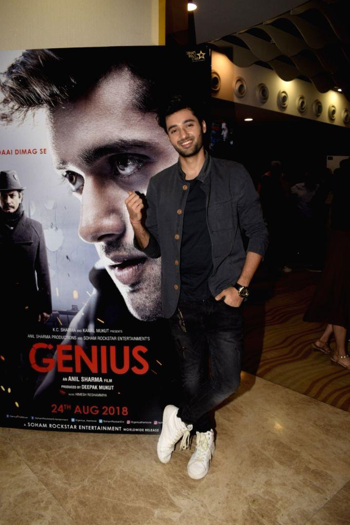 "Actor Utkarsh Sharma at the trailer launch of upcoming film ""Genius"" in Mumbai, on July 24, 2018. - Utkarsh Sharma"