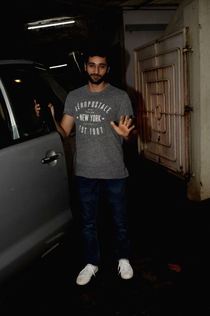 Actor Utkarsh Sharma seen at a studio in Juhu, Mumbai on July 23, 2018. - Utkarsh Sharma