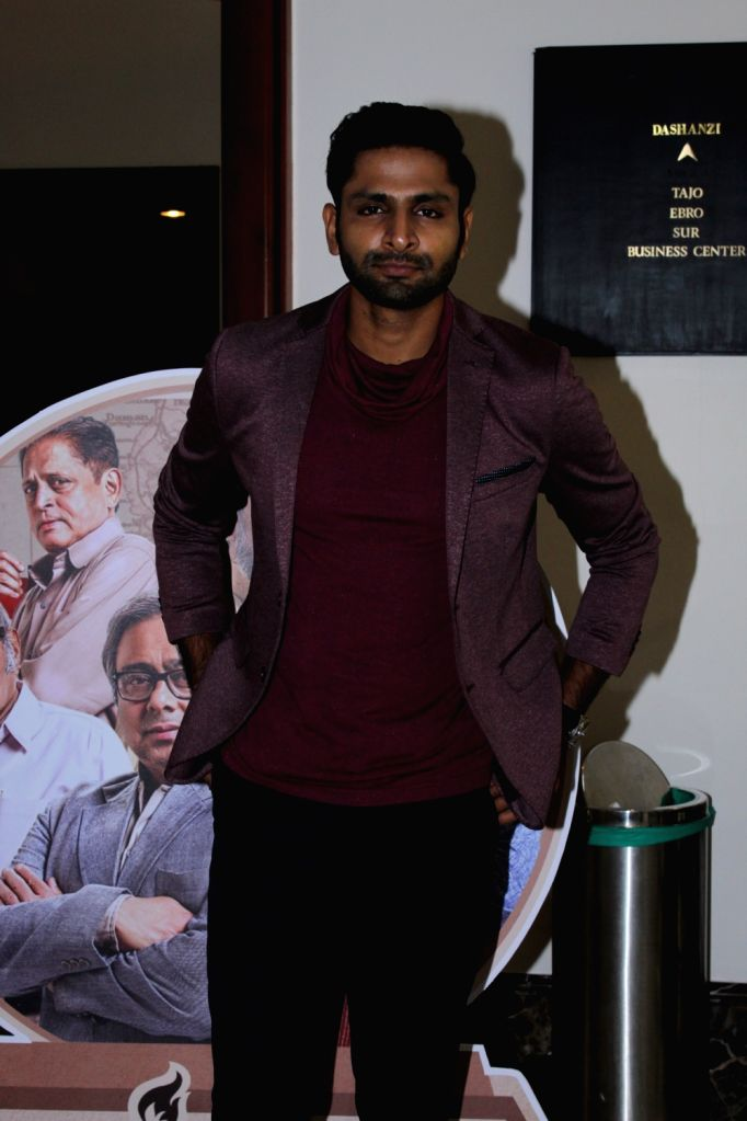 Actor Vaibhav Tatwawaadi at the screening of the documentary 'Muhurth' in Mumbai, on April 25, 2019. - Vaibhav Tatwawaadi