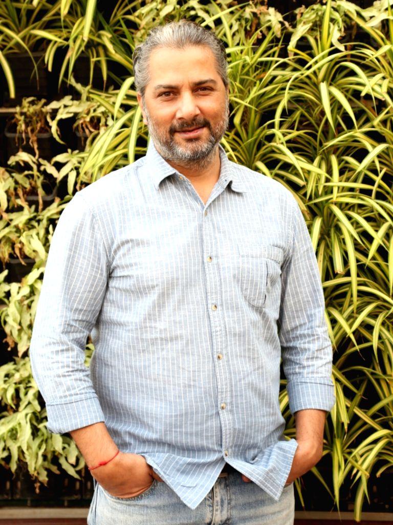 "Actor Varun Badola during a press meet to promote his television show ""Mere Dad Ki Dulhan"" in New Delhi on Dec 4, 2019. - Varun Badola"