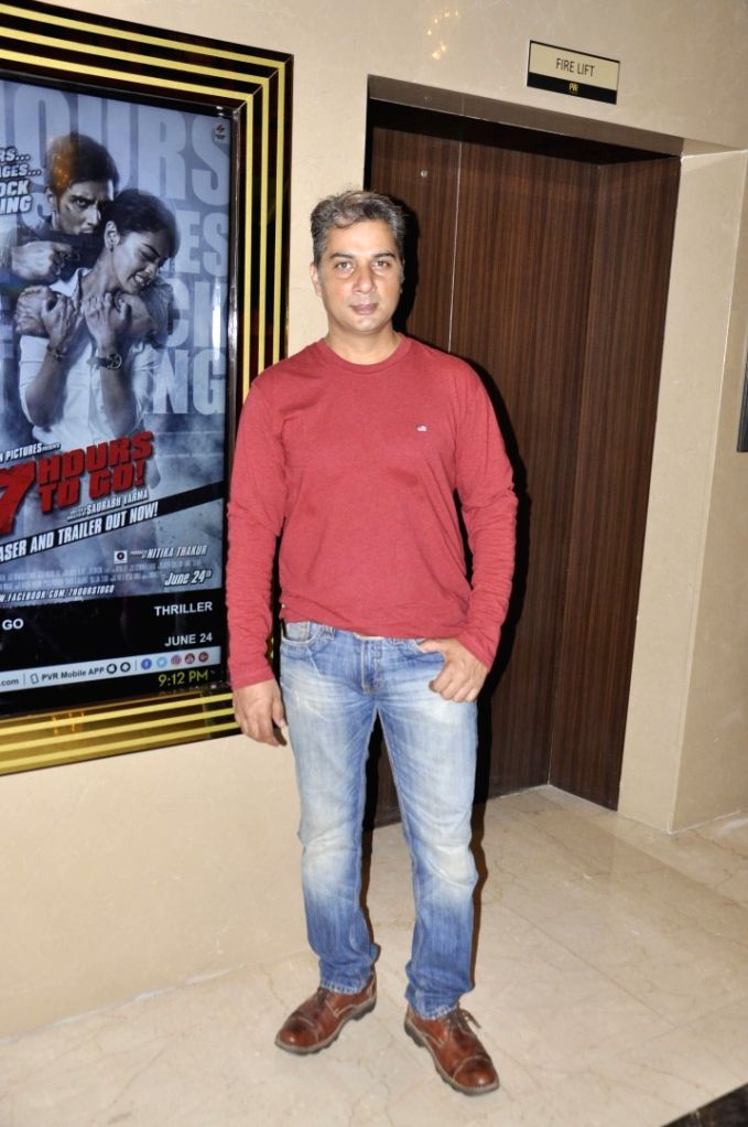 Actor Varun Badola during special screening of film 7 Hours To Go, in Mumbai on June 22, 2016. - Varun Badola