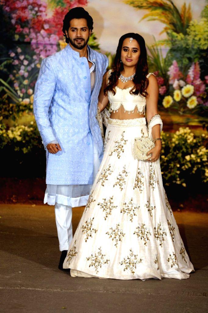 Actor Varun Dhawan and Natasha Dalal. (File Photo: IANS) - Varun Dhawan