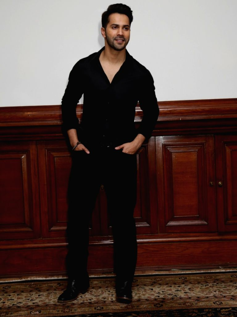 "Actor Varun Dhawan during a programme organised to promote upcoming film ""Kalank"" in New Delhi, on April 12, 2019. - Varun Dhawan"