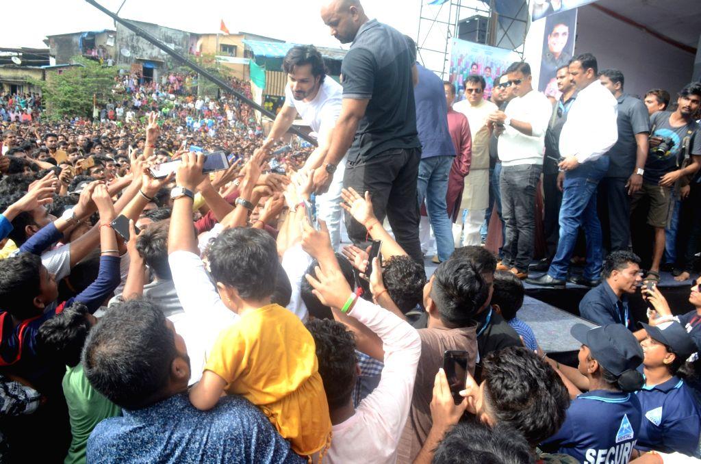 "Actor Varun Dhawan during the promotions of his upcoming film ""Sui Dhaaga"", in Mumbai on Sept 3, 2018. - Varun Dhawan"