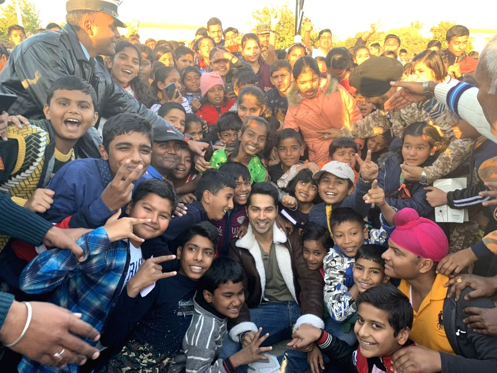 "Actor Varun Dhawan spent two days with the Indian Air Force and he described it as ""magical"". Varun on Friday took to Twitter, where he shared a string of photographs posing with the Air ... - Varun Dhawan"