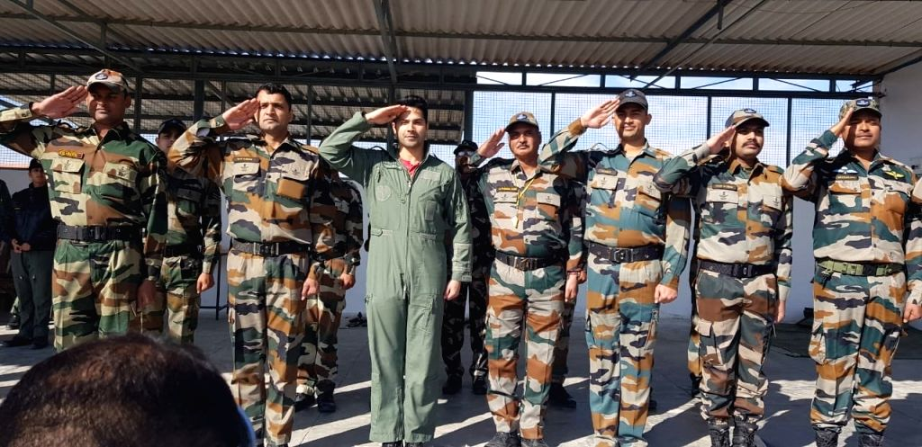 "Actor Varun Dhawan spent two days with the Indian Air Force and he described it as ""magical"". Varun on Friday took to Twitter, where he shared a string of photographs posing with the Air Force officers. - Varun Dhawan"