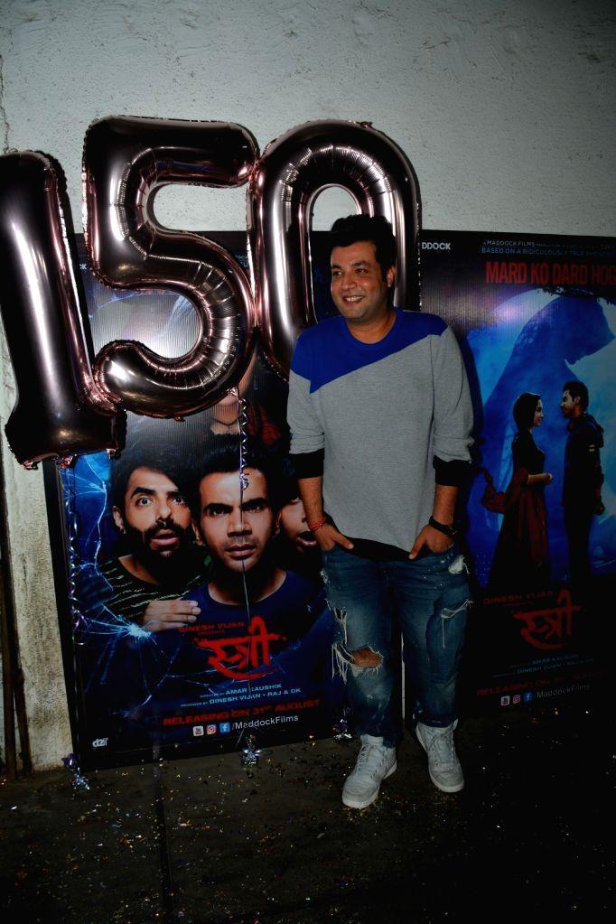 "Actor Varun Sharma at success party of film ""Stree"" in Mumbai on Sept 18, 2018. - Varun Sharma"