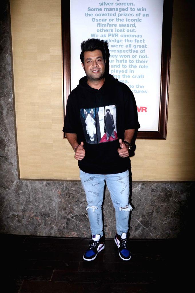 "Actor Varun Sharma at the screening of the upcoming film ""Khandaani Shafakhana"", in Mumbai on Aug 2, 2019. - Varun Sharma"