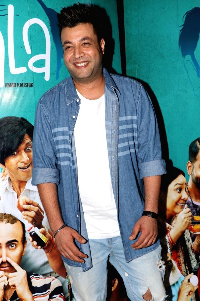 "Actor Varun Sharma at the special screening of the film ""Bala"" in Mumbai on Nov 6, 2019. - Varun Sharma"