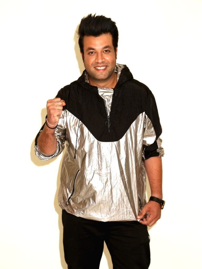 "Actor Varun Sharma during the promotions of his upcoming film ""Khandaani Shafakhana"", in New Delhi on July 30, 2019. - Varun Sharma"