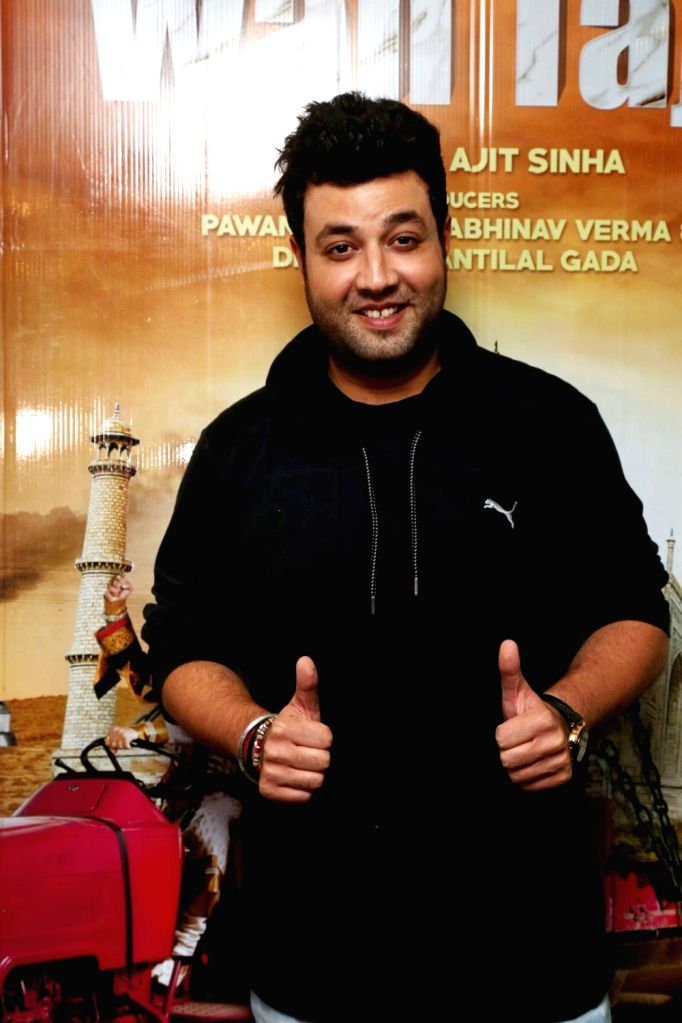 Actor Varun Sharma during the screening of film Wah Taj, in Mumbai on Sept 22, 2016. - Varun Sharma