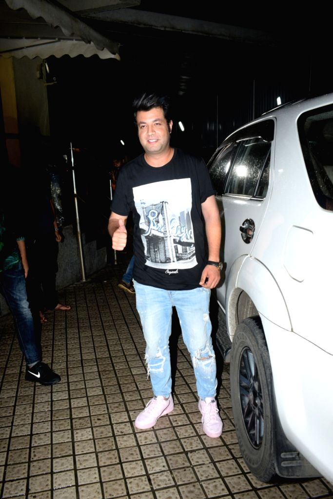 Actor Varun Sharma seen at a Mumbai cinema hall on Aug 8, 2019. - Varun Sharma