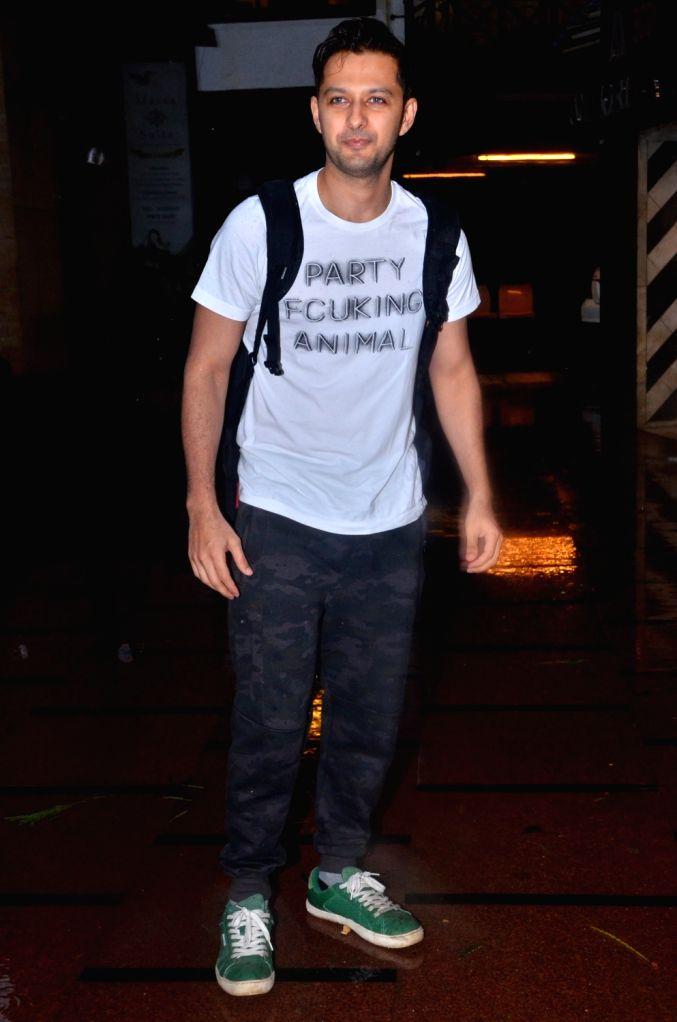 Actor Vatsal Seth seen at gym in Juhu, Mumbai on July 29, 2019. - Vatsal Seth