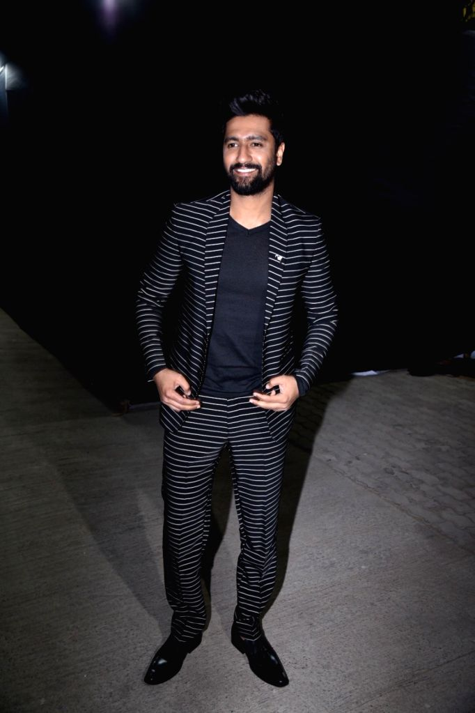 "Actor Vicky Kaushal during the grand finale of ""Times Fresh face 2019"" in Mumbai on March 08, 2019. - Vicky Kaushal"