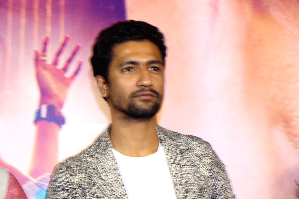 Actor Vicky Kaushal during the trailer launch of film Zubaan in Mumbai on Jan 13, 2016. - Vicky Kaushal